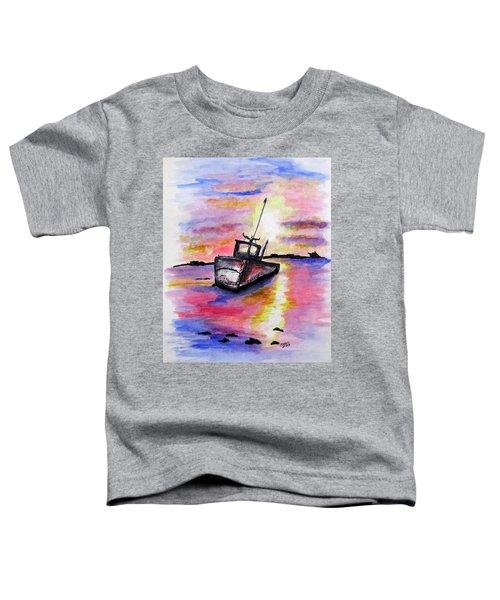 Sunset Rest Toddler T-Shirt