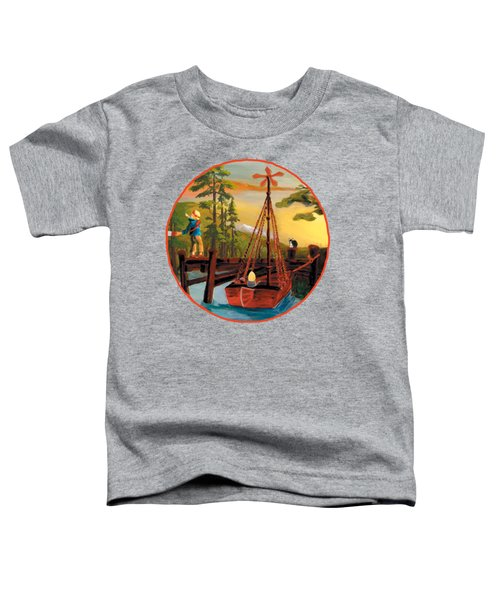 Super Boat Overlay Toddler T-Shirt