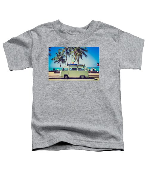 Surfer Van Toddler T-Shirt