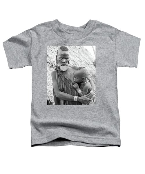 Mursi Mother And Child Toddler T-Shirt