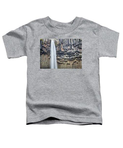 Svartifoss Portrait Iceland Toddler T-Shirt