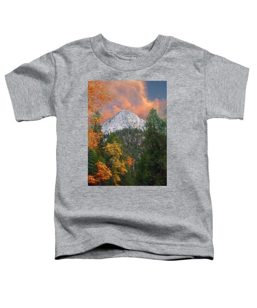 Tahquitz Peak - Lily Rock Painted Version Toddler T-Shirt