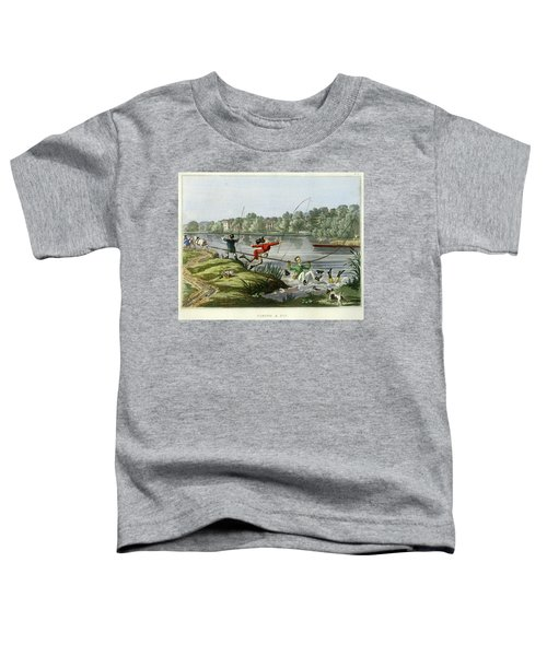 Taking A Fly Toddler T-Shirt