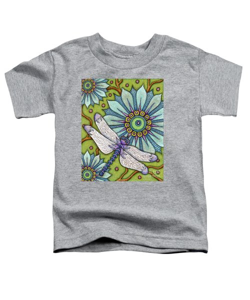Tapestry Dragonfly Toddler T-Shirt