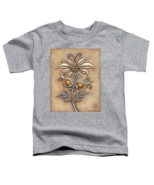 Tapestry Flower 9 Toddler T-Shirt