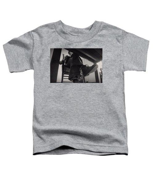 Ted Bundy Desk Toddler T-Shirt