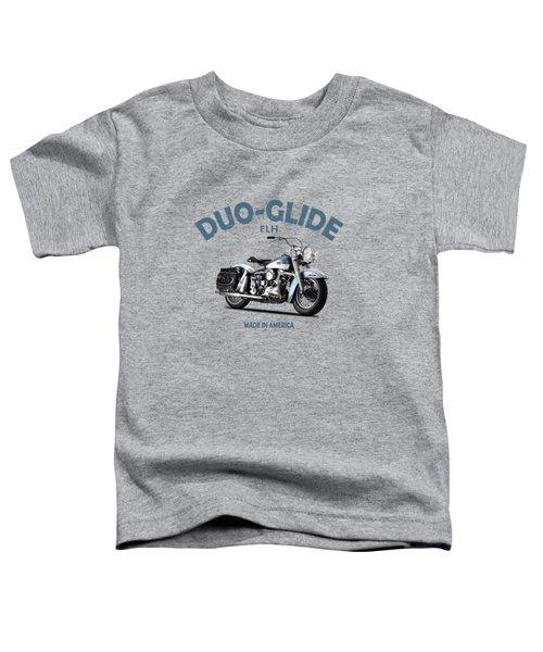 The 58 Harley Flh Toddler T-Shirt
