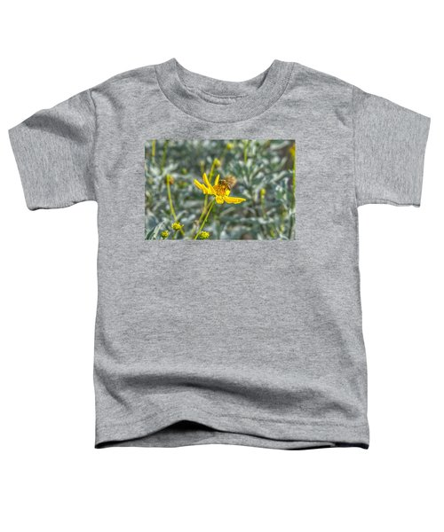 The Bee The Flower Toddler T-Shirt