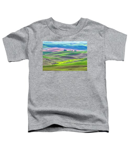 The Color Palette Of The Palouse Toddler T-Shirt