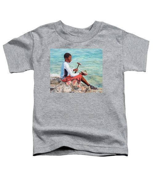 The Conch Boy Toddler T-Shirt