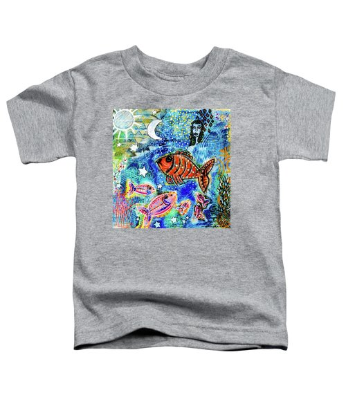 The Day The Stars Fell Into The Ocean Toddler T-Shirt
