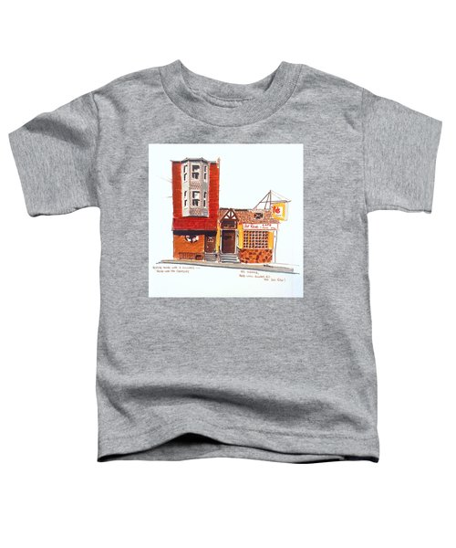 The Del Rose Toddler T-Shirt