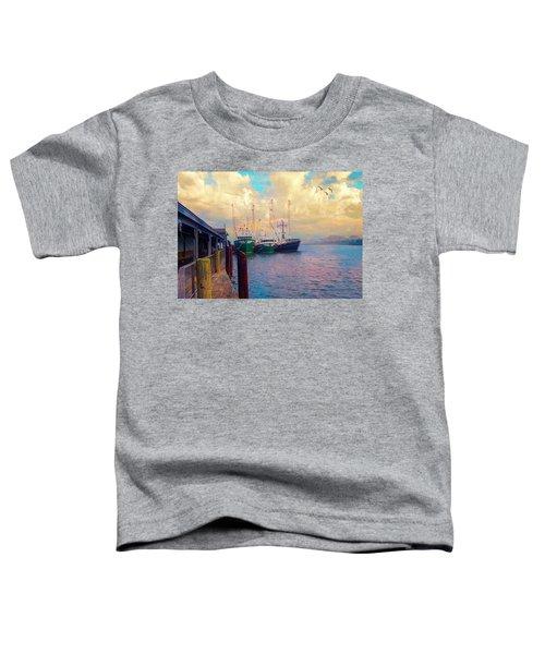 The Docks At Cape May Toddler T-Shirt