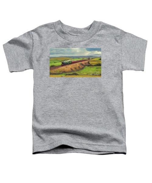 The Flying Scotsman Locomotive Toddler T-Shirt