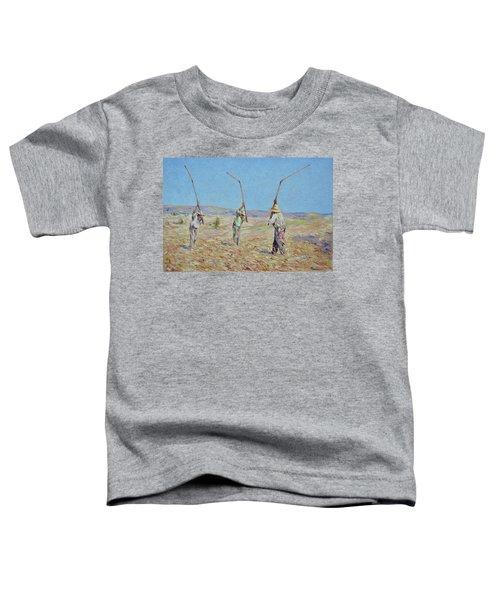 The Haymakers - Pierre Van Dijk 70x90cm Oil Toddler T-Shirt