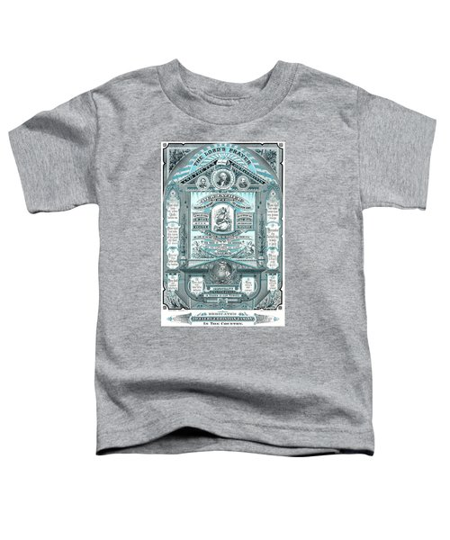 The Lords Prayer And The Ten Commandments Toddler T-Shirt