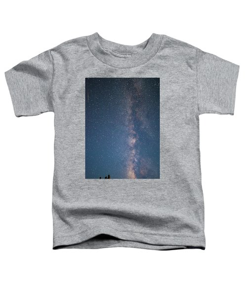 The Milky Way In Arizona Toddler T-Shirt