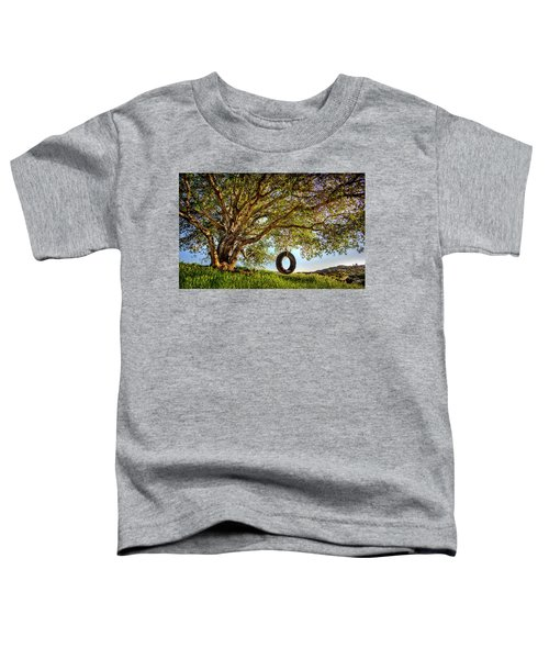 The Old Tire Swing Toddler T-Shirt