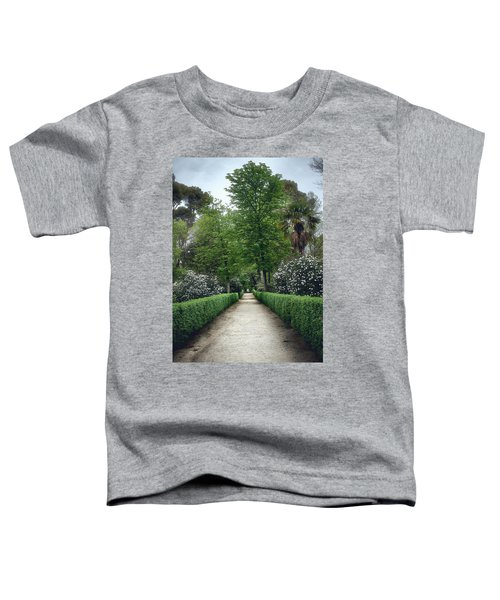 The Paths Of The Retiro Park Toddler T-Shirt