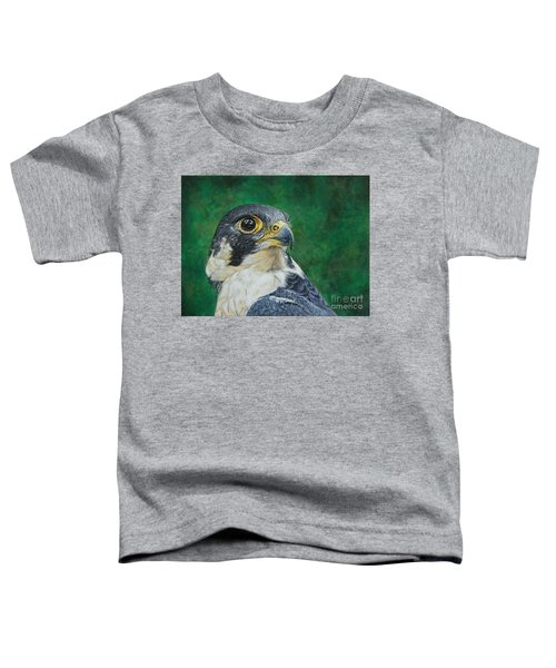 The Proud Peregrine....fastest Creature On The Planet Toddler T-Shirt