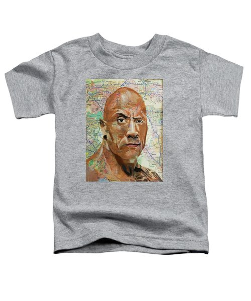 The Rock From California Toddler T-Shirt