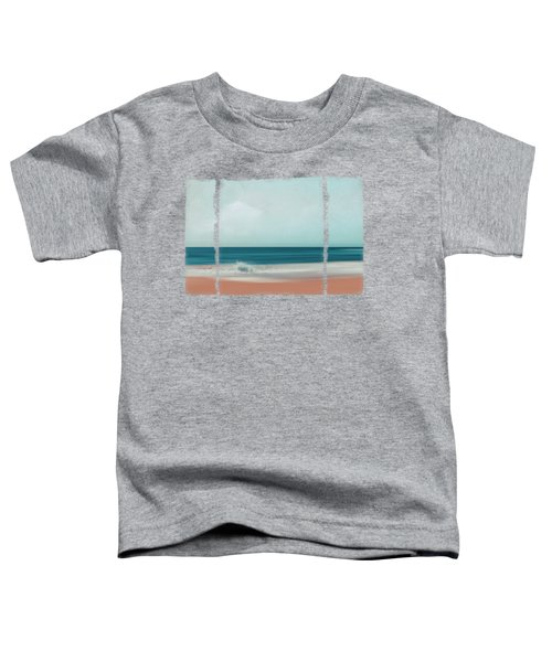 The Sea Says - Abstract Seascape Toddler T-Shirt