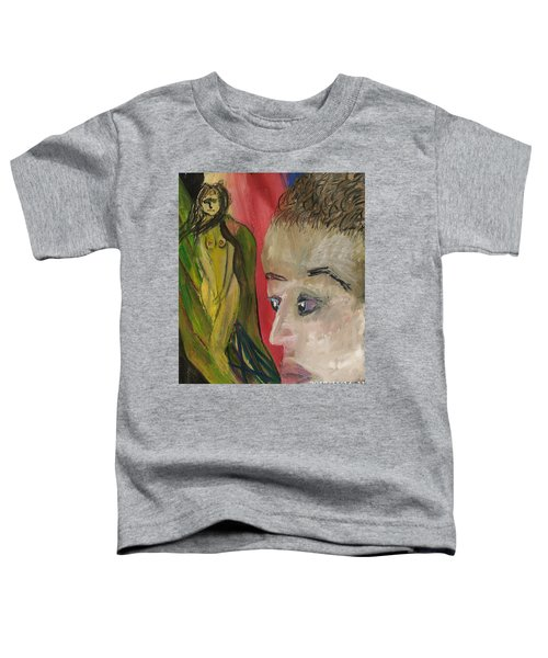 The Sexy Man With The Watery Blue Eyes Toddler T-Shirt