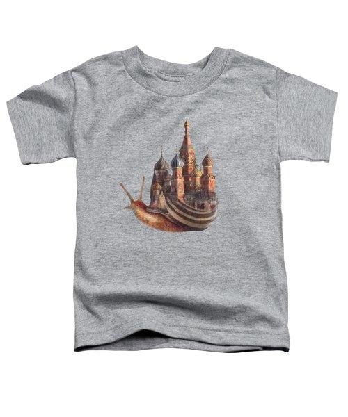 The Snail's Daydream Toddler T-Shirt