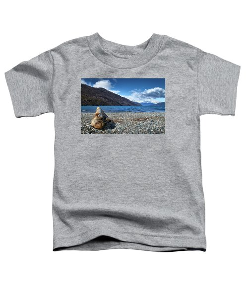 The Puelo Lake In The Argentine Patagonia Toddler T-Shirt