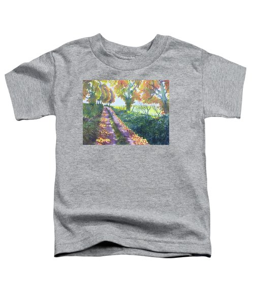 The Tunnel In Autumn Toddler T-Shirt