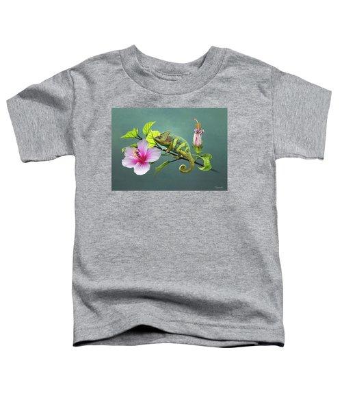The Veiled Chameleon Of Florida Toddler T-Shirt