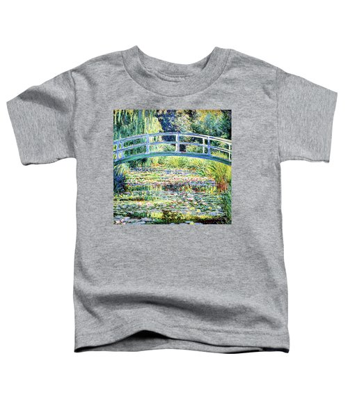 The Water Lily Pond By Monet Toddler T-Shirt