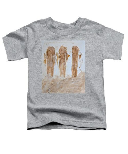 Three Little Muddy Angels Toddler T-Shirt