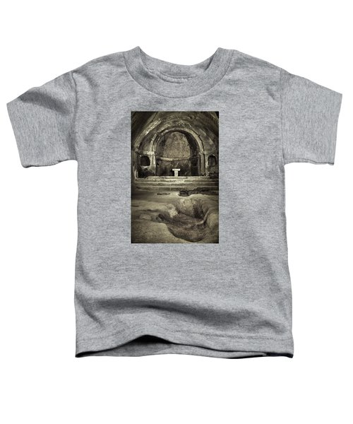 Tomb And Altar In The Monastery Of San Pedro De Rocas Toddler T-Shirt