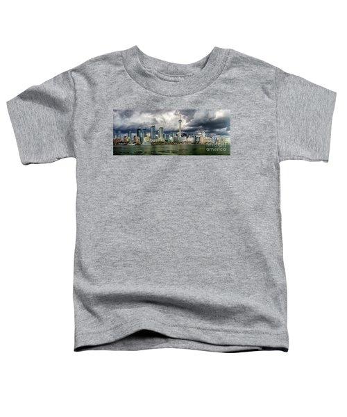 Toronto Skyline Toddler T-Shirt
