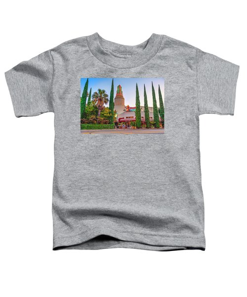 Tower Cafe Sunset- Toddler T-Shirt