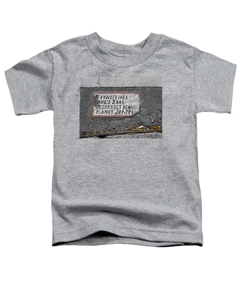 Toynbee Tile Nyc Toddler T-Shirt