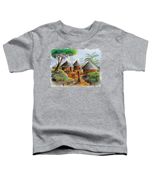 Traditional Village Toddler T-Shirt