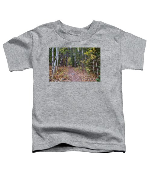Toddler T-Shirt featuring the photograph Trailhead by James BO Insogna