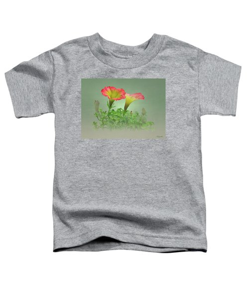 Trailing Petunia Toddler T-Shirt