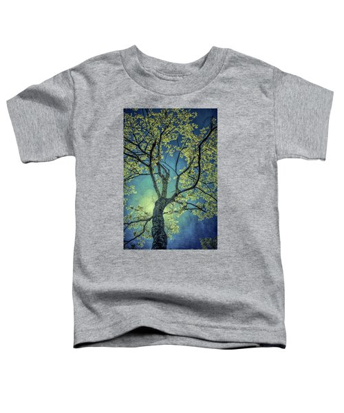 Toddler T-Shirt featuring the photograph Tree Tops 0945 by Donald Brown
