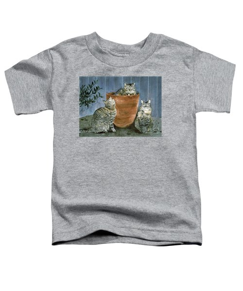 Tres Gatos Toddler T-Shirt