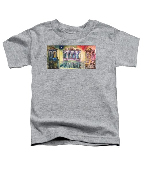 Tryptic On The Bayou New Orleans Toddler T-Shirt