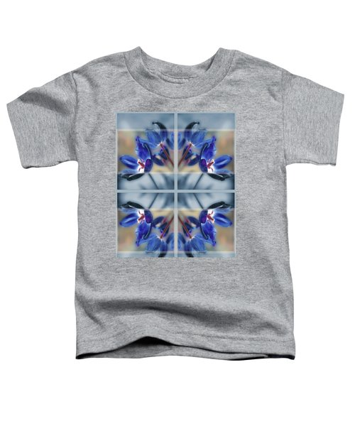 Tulips Of Stained Glass Toddler T-Shirt