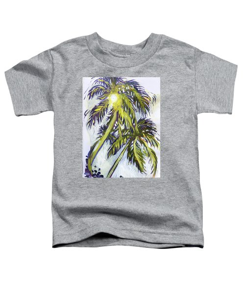 Two Palm Sketch Toddler T-Shirt