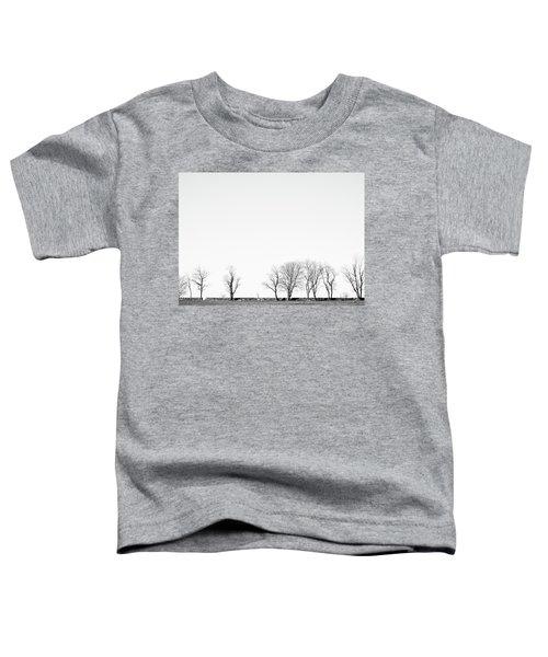 Under A Winter Sky Toddler T-Shirt