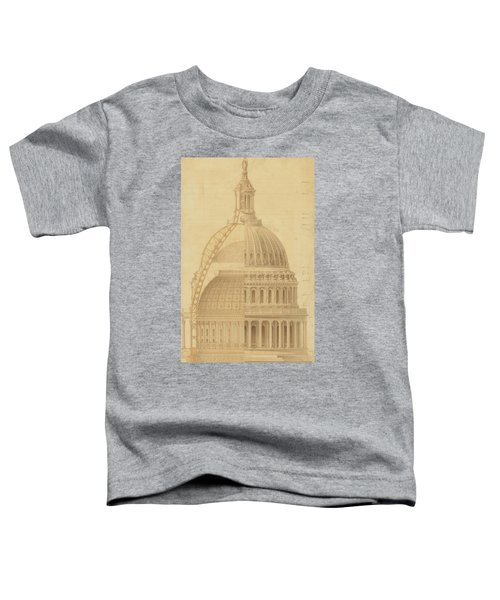 United States Capitol, Section Of Dome, 1855 Toddler T-Shirt