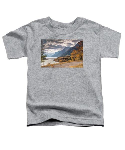 Upper Waterton Lakes Toddler T-Shirt