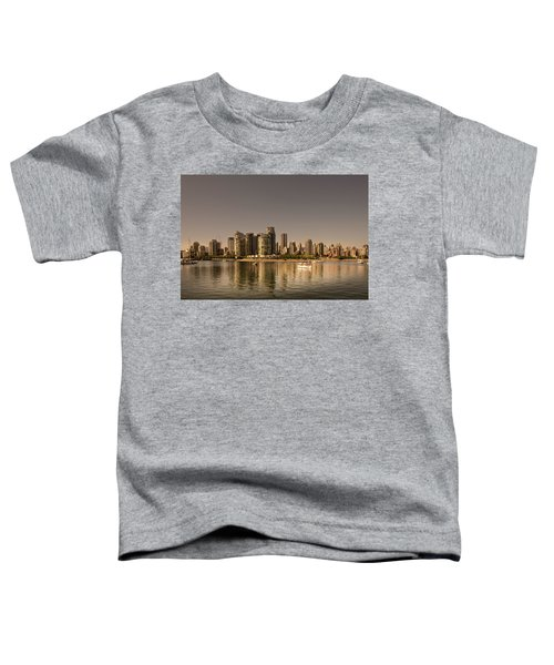 Vancouver Golden Light Hour Toddler T-Shirt