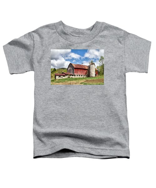 Vermont Barn And Silo  Toddler T-Shirt